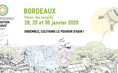 Retrouvez-nous aux Assises européennes de la transition énergétique