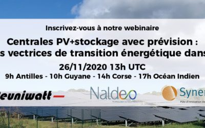 Webinaire Centrales PV + stockage